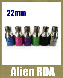 Discount rebuildable atomizer drip tank - Alien RDA Atomizer Rebuildable Dripping Atomizer 22mm Tank dripper Alien Electronic Cigarette Atomizer PK Mat Hatter Fre