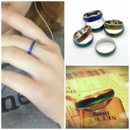 $enCountryForm.capitalKeyWord Canada - Rings Magic New Creative Mood Color Rings for Women Man Jewelry Colors Change With Your Emotion Temperature Color Changing Rings Band Rings