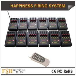 Envío gratuito de FedEX / DHL, sistema de fuego pirotécnico del certificado CE de 48 señales, sistema de disparo de fuegos artificiales de control remoto, sistema de felicidad (DB04r-48)