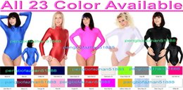 Costumes Sexy En Spandex Pas Cher-Sexy court Body Costumes unisexe 23Color Lycra Spandex court Costume Catsuit Costumes Sexy Body Suit Halloween Fantaisie Robe Cosplay Costume P028