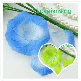 Pétales De Fleurs Bleues Pas Cher-Hot Sale - 5 paquets (720pcs) Blue Sky non-tissé artificielle Rose Pétale Pour Wedding Party Favor Decor