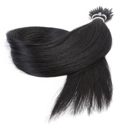 Chinese  Straight Machine Made Remy Micro Beads Nano Ring Human Hair Extension manufacturers