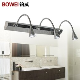 Discount Bathroom Mirror Light Fittings Wholesale Modern Brief Fashion Led Glass