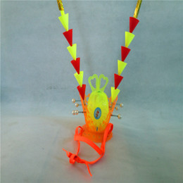 Wholesale Luminous Paper Canada - Free shipping children's toys Ruyi Jingu Bang Journey weapon props Monkey luminous purple crown headdress