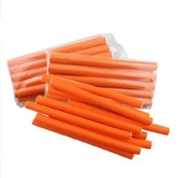 Cabelo Hot Rollers Curler Spiral Hair Roller, Rolos de Cabelo de Espuma em Promoção