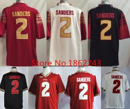 Factory Outlet- Men s  2 Deion Sanders FSU Jersey Black Red White Garnet  Stitched College Football Florida State Seminoles Deion Sanders Jer 9217dd999