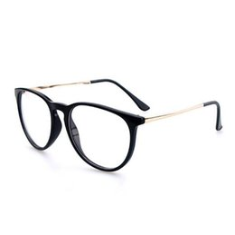 378e372dc53 Wholesale- Spectacles Frame Pc Lens Black Eyeglasses Alloy Vintage Metal Optical  Frame Reading Glasses Men Women Myopia Eye Glasses Frame