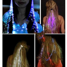 Light up glow hair extensions australia new featured light up free shipping flash night lights braid luminous light up led hair extension party hair glow by fiber pmusecretfo Choice Image