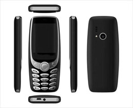 Bar Cell Phone Greece Canada - new bar phone Camera FM sim card 4 stand by 2.4 inch 3350 cell phone with bluetooth camera FM radio
