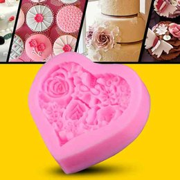 $enCountryForm.capitalKeyWord Canada - Heart rose cake mold silicone baking tools kitchen accessories decorations for cakes Fondant chocolates soap