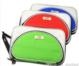 $enCountryForm.capitalKeyWord NZ - 2PCS- ping pong bag Double fish T shape single tier set table tennis racket cover