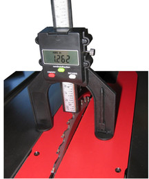 Toptan satış Freeshipping 60mm Geniş Diyafram El Yönlendiricileri Yönlendirici Masalar Derinlik Ölçer