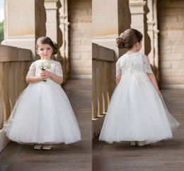 0191c69390f Red white baby wedding dResses online shopping - 2016 White New Baby Girl s  Wedding Party