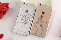 $enCountryForm.capitalKeyWord Canada - New Fashion Creative Couple Love Hard phone Case Cover For iPhone 5 5S  6 6 Plus