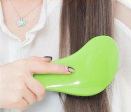 Magic Handle Canada - New Magic Detangling Handle Tangle Shower Hair Brush Comb Salon Styling Tamer Tool Multi-colors with retail pack 10pcs free ship