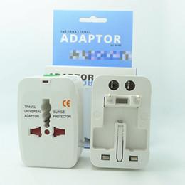 Iphone International NZ - All in One Universal International Plug Adapter 2 USB Port 1A World Travel AC Power Charger Adaptor with AU US UK EU Plug