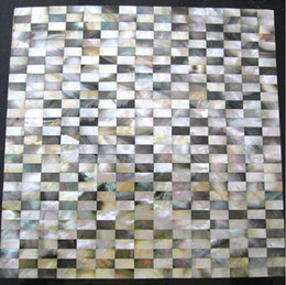 $enCountryForm.capitalKeyWord Australia - 8mm thickness brick Black lip mother of pearl shell mosaic backsplash tiles MOP103 pearl shell tile bathroom gold mother of pearl tiles