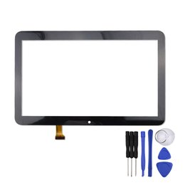 Discount tablet replacement screen - Wholesale- 10.1 inch Touch Screen for Texet TM-1057 Tablet PC Digitizer Glass Panel Replacement Sensor Free Shipping