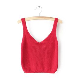 Cropped Sweater Vest Online | Cropped Sweater Vest for Sale