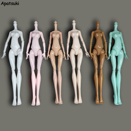 Discount doll bodies wholesale - 6pcs  Lot Diy Imitation Naked Body Without Head For Monster High Dolls Fairytales 11 Joints Bodies Demon Monster Doll Ac