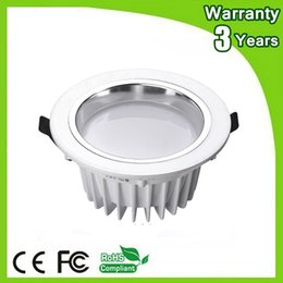 $enCountryForm.capitalKeyWord NZ - 12W LED Down Light Dimmable LED Downlight Recessed 80PCS AC85-265V 3 Years Warranty Thick Housing Super Bright