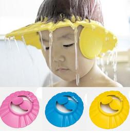 Neue Stil Kinder Cartoon Ohr Pflege Shampoo Hut Baby Shampoo Kappe Eva Einstellbar Shampoo Kappe Bade Hut Bad & Dusche Produkt