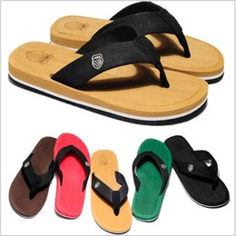 Beach Slippers Man Canada - 201 Fashion Men's Sandals Flip Flops Man Shoes Beach Slippers Pinch Babouche Baboosh Chinela Sandal Foothold Tatbeb Loafer