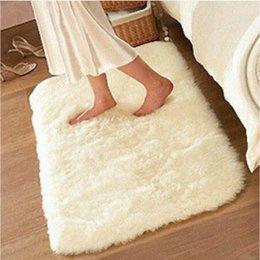 5080 Rugs And Carpets 45mm Silky Bedroom Floor Mats Living Room Mat Bathroom Door A3