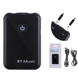 Smart tranSmitter online shopping - Bluetooth V4 Transmitter Receiver in Wireless mm AUX Audio Adapter APT X HD Sound Quality Lossless Transmission For Smart Phones