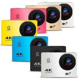 "Discount wholesale black pink box - 4K Action Camera F60 Allwinner 4K 30fps 1080P Sport WiFi 2.0"" 170D Helmet Cam underwater Waterproof Diving Recorder"