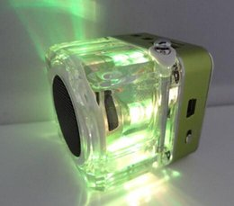 $enCountryForm.capitalKeyWord NZ - Nizhi TT-028 LED Crystal Mini Speaker Portable Speakers FM TF U Disk LCD Display Subwoofer for iPhone MP4 MP3 Music Player