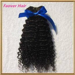 Afro Kinky Hair Shipping Australia - Free Shipping top 7A 100g 100% human hair weft Unprocessed Mongolian virgin hair afro kinky curly deep curly Natural Color hair weave