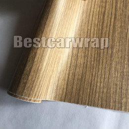 Furniture Film online shopping - Matte Pine Wood Grain Faux Finish Textured Vinyl Wrap Paper Film for Car Office Furniture DIY No Mess Easy to Instal M Roll x67ft
