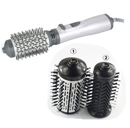 Discount styler hair dryers - Hair Rollers High Quality 210v -240v 1200w Power Professional Hair Styler Hair Dryer Machine Comb Hairdressing Tool