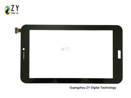 "tablet pc replacement screens Canada - 7"" Black Tablet Pc Capacitive Touch Screen Digitizer Replacement F0679-A Glass Touch Panel"
