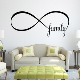 $enCountryForm.capitalKeyWord NZ - Family Quote Wall Sticker DIY Removable Letter Words Wall Decal for Living Room Bedroom Home Decor