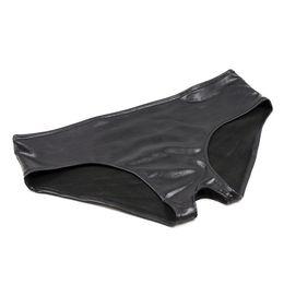 Preto Aberto Crotch Calças Cuecas Mulheres Sexy underwear para fácil sexo adultos produtos casal breve brinquedos venda por atacado