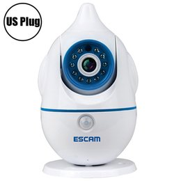 Discount internet security Escam Penguin Cheap 2 way audio security camera IP internet wireless baby video movement monitor camera wifi for baby ro