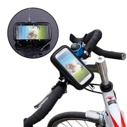 $enCountryForm.capitalKeyWord Canada - Universal Phone Bike Holder Waterproof Case Bag Bicycle Bike Handlebar Cell Phone Mount for iphone 6S Plus for Samsung Smartphone
