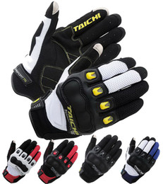 $enCountryForm.capitalKeyWord Canada - 2016 new authentic RS-TAICHI Summer short paragraph motorcycle racing gloves RST-412 carbon fiber motorbike glove can touch 5 colora
