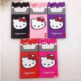 $enCountryForm.capitalKeyWord Australia - Call phone case 3D Luxury Silicone Smoking Kills Cartoon Hello Kitty Cigarette Cell Phone Case For iPhone 6 plus i6 i5 5 6s 5S Covers cases
