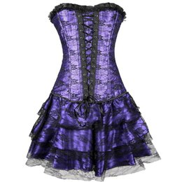 Sexy Corset Sex Pas Cher-Lingerie sexy Chaussures taille taille corsets steampunk vêtements amincissants Robe S-2XL G-String taille corsets et bustiers Jupe taille minceur