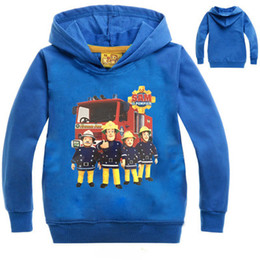 Chinese  2-10Years 2017 Spring Autumn Kids Boys Hoodies and Sweatshirts Fireman Sam Clothing Kids Clothes Boys Fashion Jacket NO7646 manufacturers