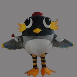 Fancy Grey Dresses NZ - New Super hot Birds Mascot Costume Fancy Dress EPE