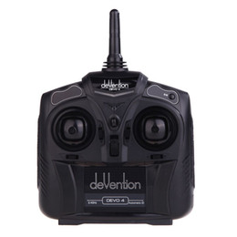 Devo rc transmitters online shopping - Walkera Devention Devo GHZ CH RC Radio Transmitter controller Model order lt no track