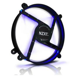 Venta al por mayor de NZXT FS-200-RB-RL 20cm ventilador de caja rojo LED ventilador Njie Mirage silenciado azul