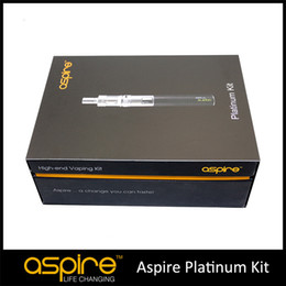 $enCountryForm.capitalKeyWord Canada - Wholesale - In Stock Aspire Platinum Kit With Aspire Atlantis Tank And 2000mah Aspire SUB OHM Battery high quality 100% Original