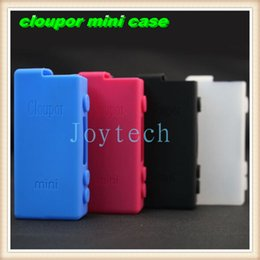 silicone case for cloupor Canada - 2015 New arrival silicone mini case silicone rubber cases carry bag fit for istick 20w,30w,50w,cloupor mini 30w mod DHL Free Shipping