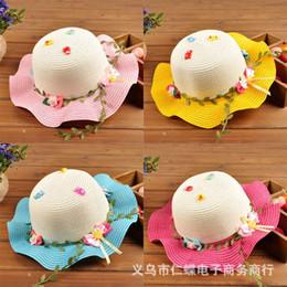 2015 nueva moda coreana niños sombreros bebé sombrero de paja verano Sun  Hat para niños y niñas niños jazz sombreros bebé sombrero moda 01 35c36144662