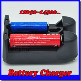 Wholesale Hot 100PCS 3.7V Battery Charger for 18650  14500  17500  18500  26650  10440  16340And 17670 Battery free shipping